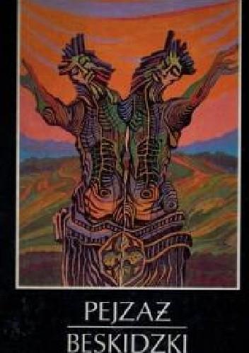 Okładka książki Pejzaż Beskidzki