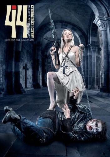 Okładka książki Czterdzieści i cztery. Magazyn apokaliptyczny, nr 3 / 2011 - Nowy wspaniały świat