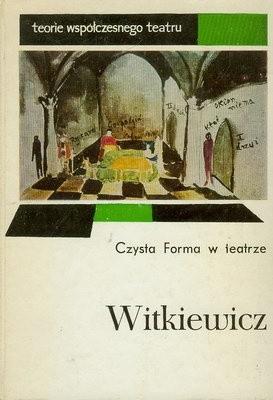Okładka książki Czysta Forma w teatrze