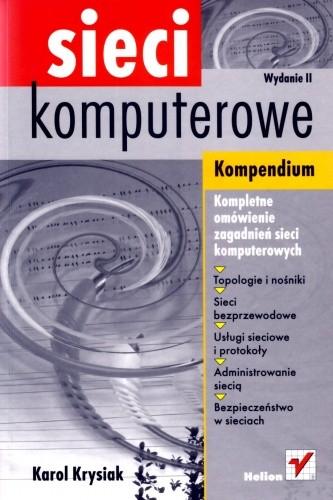 Okładka książki Sieci komputerowe