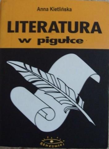 Okładka książki Literatura w pigułce