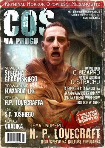 Okładka książki Coś na Progu, nr 1 / marzec-kwiecień 2012