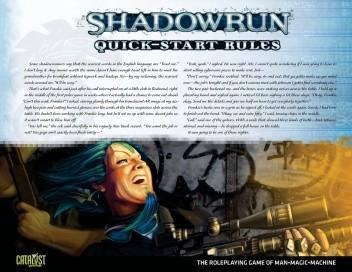 Okładka książki Shadowrun Quick-Start Rules