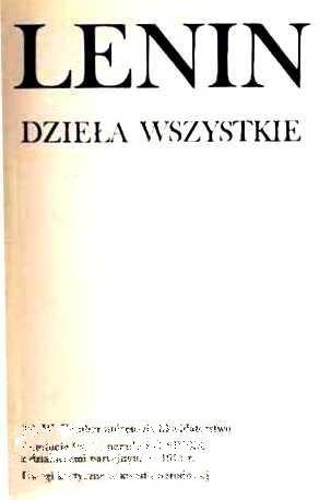 Okładka książki Dzieła wszystkie. T. 40, Grudzień 1919 - kwiecień 1920