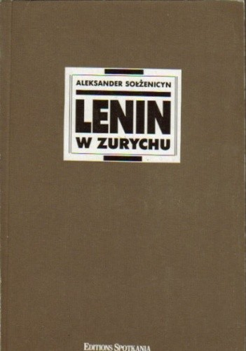 Okładka książki Lenin w Zurychu