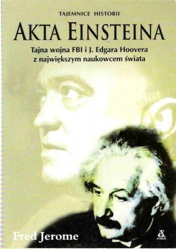 Okładka książki Akta Einsteina