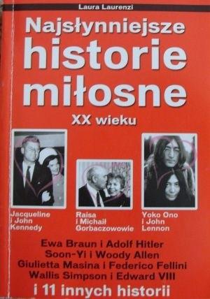 Okładka książki Najsłynniejsze historie miłosne XX wieku