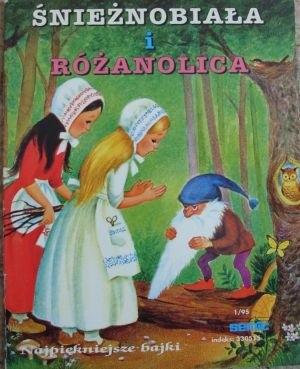 Okładka książki Śnieżnobiała i Różanolica