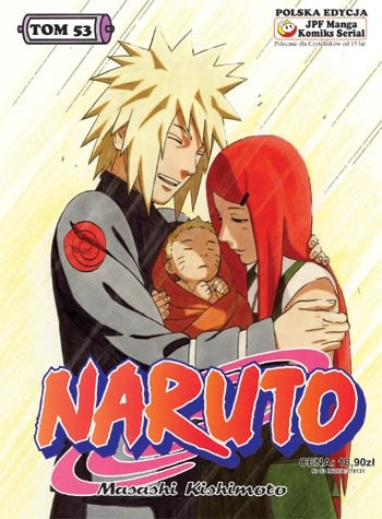 Okładka książki Naruto tom 53 - Narodziny Naruto