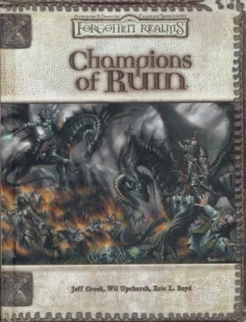 Okładka książki Champions of Ruin