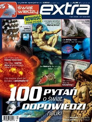 Okładka książki Świat Wiedzy Extra (1/2012)