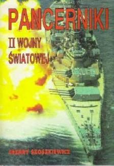 Okładka książki Pancerniki II wojny światowej