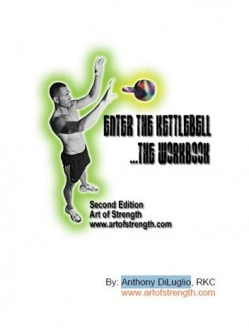 Okładka książki Enter the Kettlebell. The Workbook