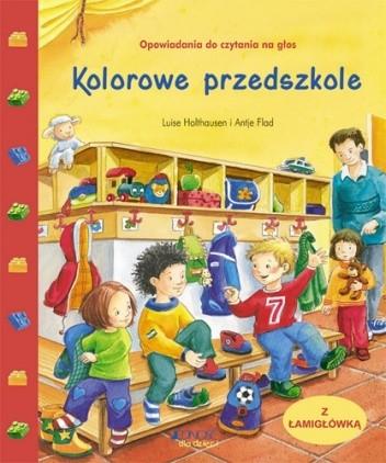 Okładka książki Kolorowe przedszkole