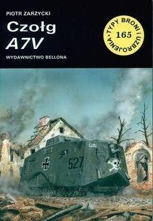 Okładka książki Czołg A7V