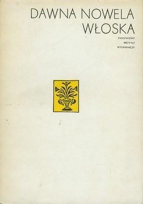 Okładka książki Dawna nowela włoska