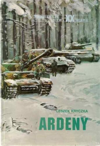 Okładka książki Ardeny