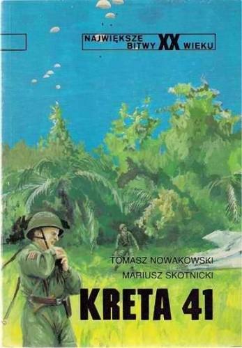 Okładka książki Kreta 41