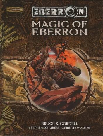 Okładka książki Magic of Eberron