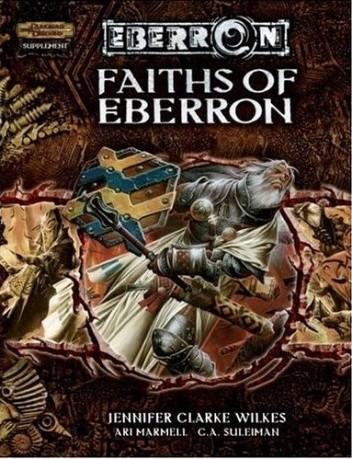 Okładka książki Faiths of Eberron