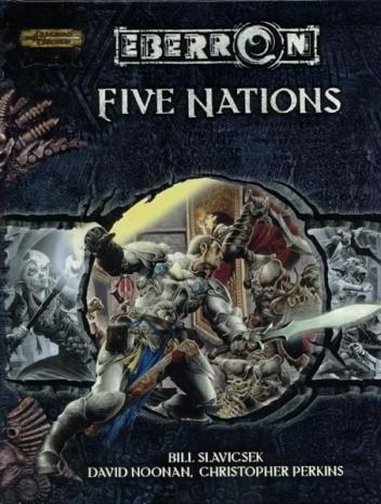 Okładka książki Five Nations