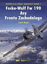 Okładka książki Focke-Wulf Fw 190. Asy Frontu Zachodniego