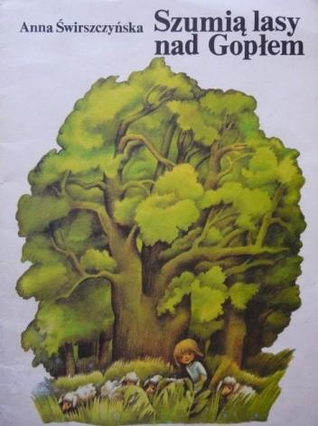 Okładka książki Szumią lasy nad Gopłem