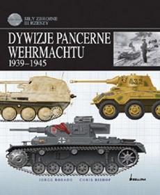 Okładka książki Dywizje pancerne Wehrmachtu 1939-1945