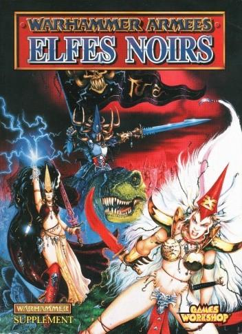 Okładka książki Warhammer Armées: Elfes Noirs