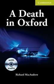 Okładka książki A Death in Oxford