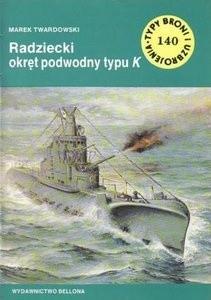 Okładka książki Radziecki okręt podwodny typu K