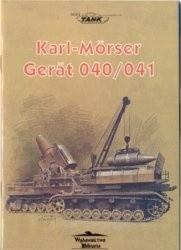 Okładka książki Karl-Morser Gerat 040/041