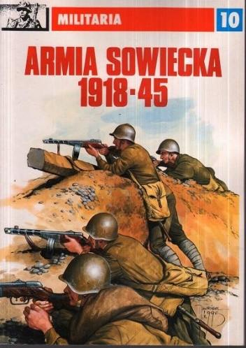 Okładka książki Armia sowiecka 1918-45