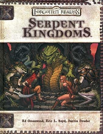 Okładka książki Serpent Kingdoms