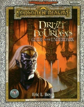Okładka książki Drizzt Do'Urden's Guide to the Underdark
