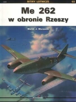 Okładka książki Me 262 w obronie Rzeszy