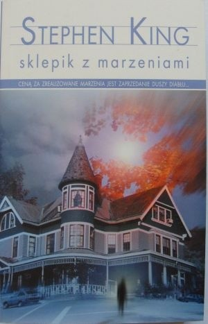 Okładka książki Sklepik z marzeniami