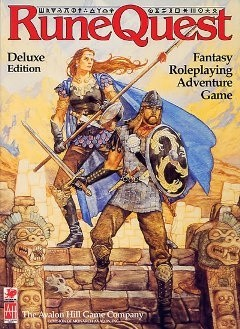Okładka książki RuneQuest Deluxe Edition