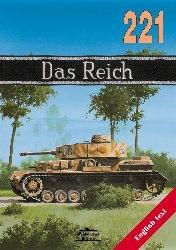 "Okładka książki SS-Division ""Das Reich"" 1940-1945"