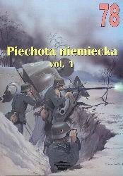 Okładka książki Piechota niemiecka 1939-1945