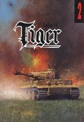 Okładka książki PzKpfw VI Tiger - część I