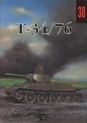 Okładka książki Czołg średni T-34/76