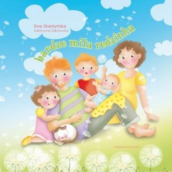 Okładka książki Bardzo miła rodzinka