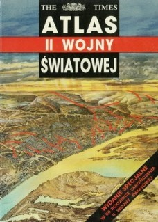 Okładka książki Atlas II wojny światowej