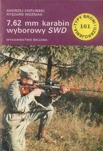 Okładka książki 7,62 mm karabin wyborowy SWD