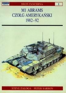 Okładka książki M1 Abrams. Czołg amerykański 1982-92