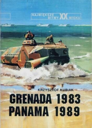 Okładka książki Grenada 1983. Panama 1989