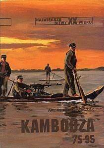 Okładka książki Kambodża 75-95
