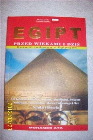 Okładka książki Egipt przed wiekami i dziś oczami jednego z Egipcjan