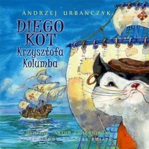 Okładka książki Diego. Kot Krzysztofa Kolumba